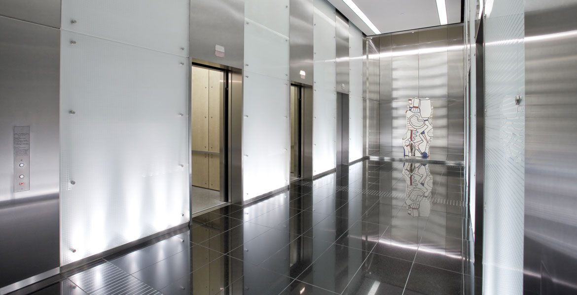 Mitsubishi Electric USA Photographer - Building Interior Photography - Elevator Photographer - Studio 101 West Photography