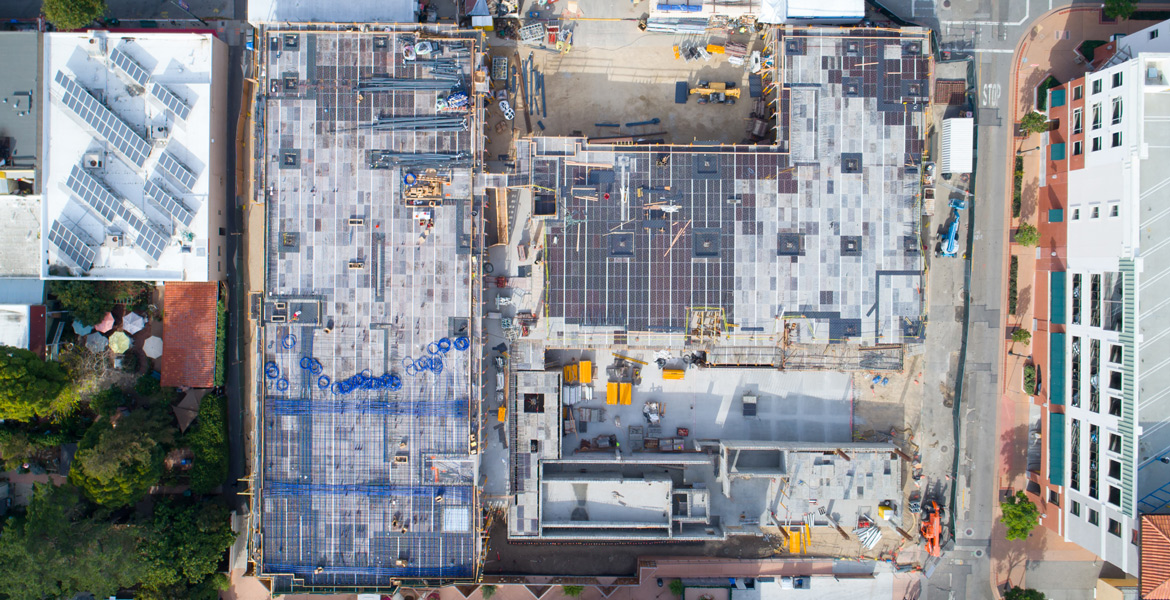 Central Coast Hotel San Luis Obispo Aerial Photography - Drone Photography Construction Process - Studio 101 West Photography
