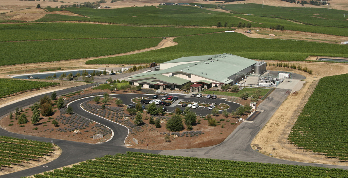 San Luis Obispo Tolosa Winery Aerial Photography - Studio 101 West Photography