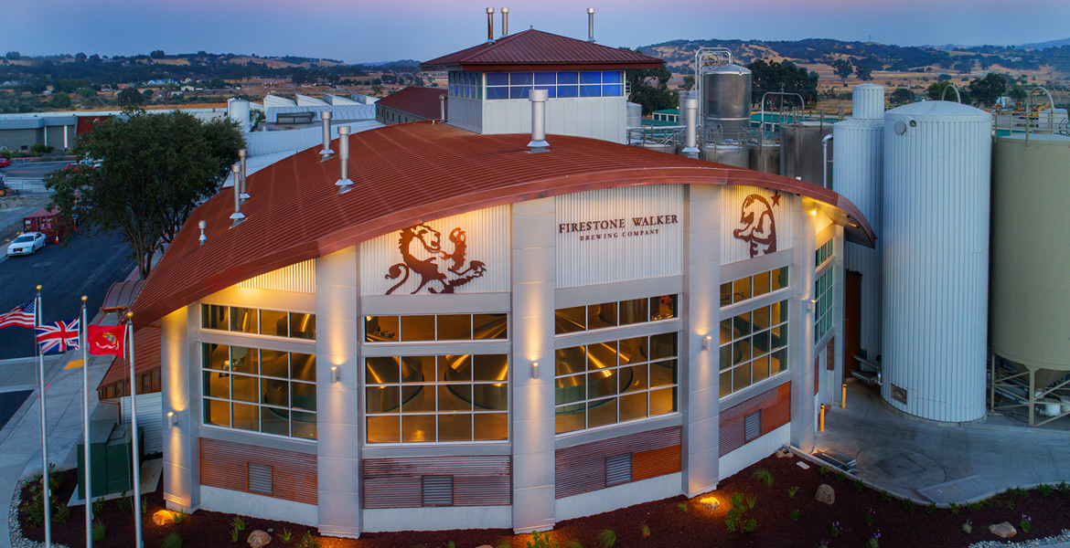 805 Firestone Walker Brewing Company Drone Photography - Studio 101 West Photography