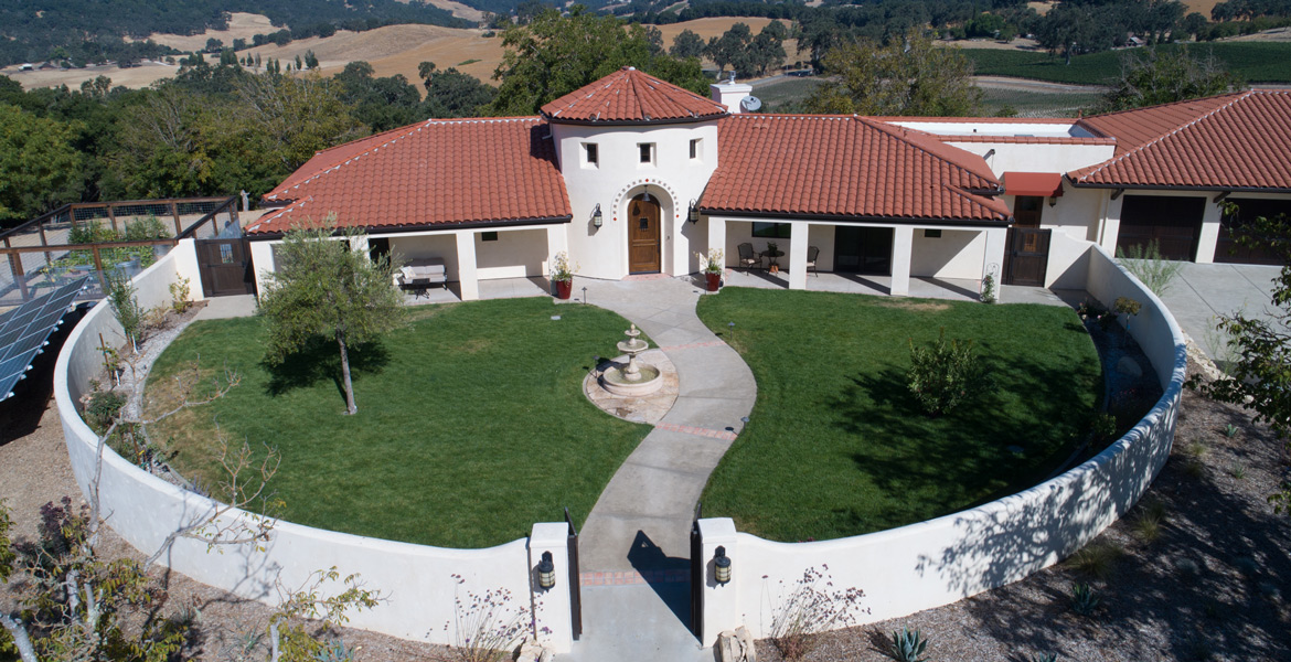 Paso Robles Real Estate Drone Photography - Studio 101 West Photography