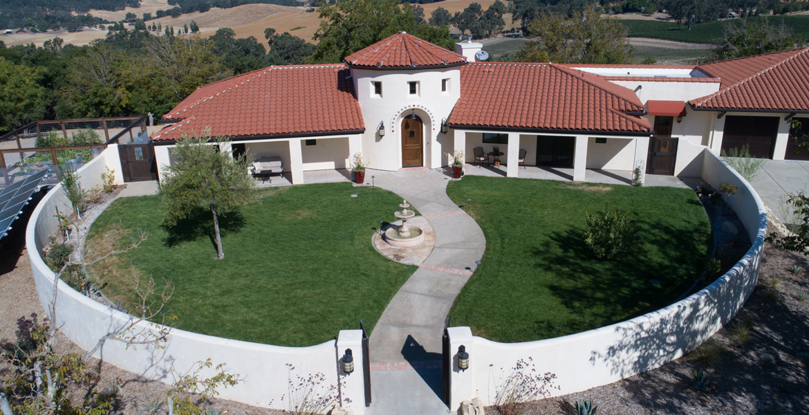 Paso Robles Luxury Real Estate Aerial Photography - Studio 101 West Photography