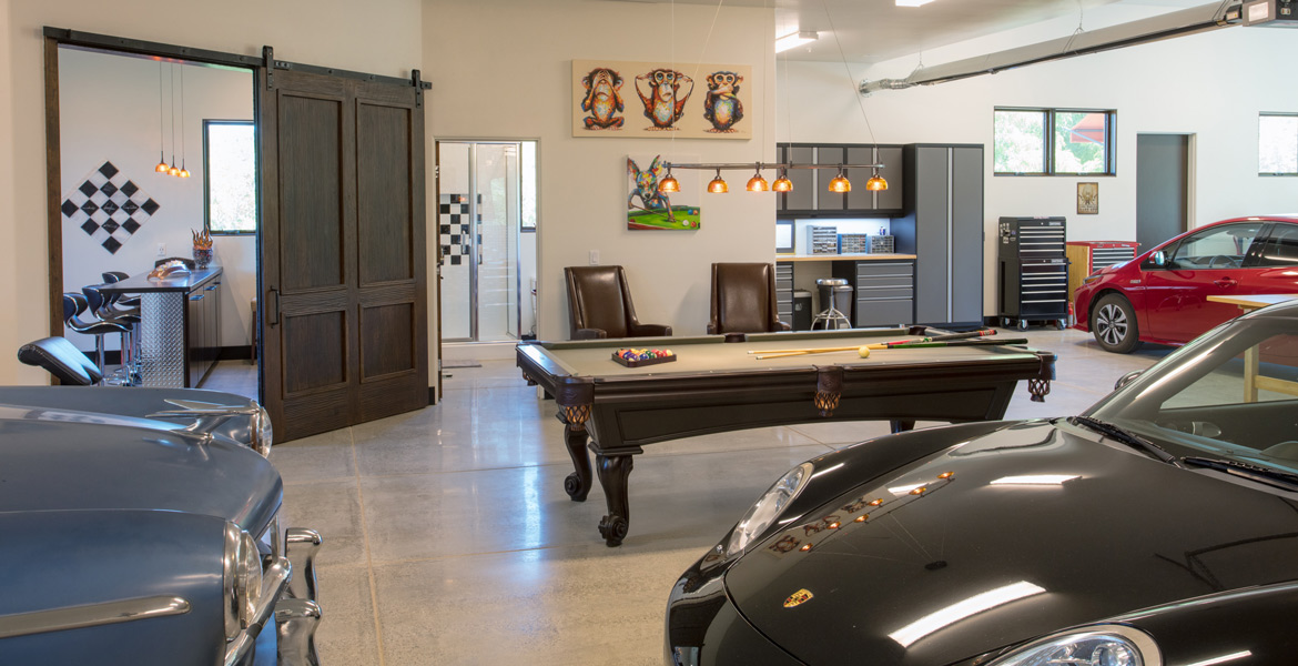 Paso Robles California Upscale Garage Design Photography - Studio 101 West Photography